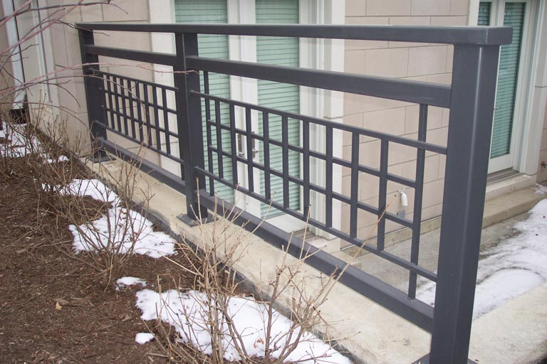 ornamental wrought iron railing 15